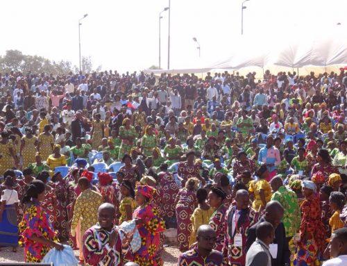 Crowds Celebrate Pentecost