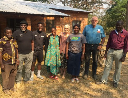 CAM Trustee visit to Nyangombe
