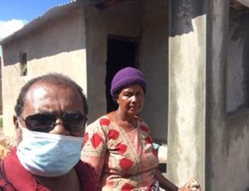 House-building for Cyclone Victims Goes On …