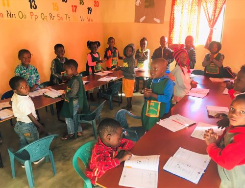Back-to-School Hopes for Mozambique Pre-School